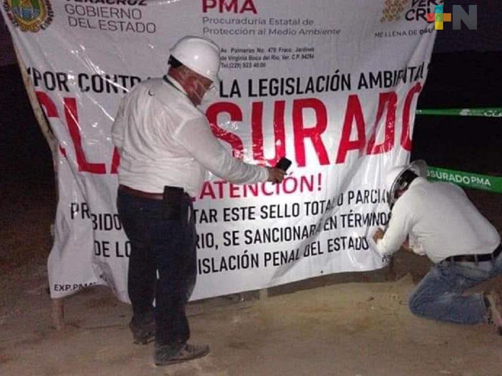 PMA clausura de forma parcial basurero de Villa Allende
