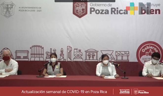 Refuerza Poza Rica sus acciones en contra del coronavirus