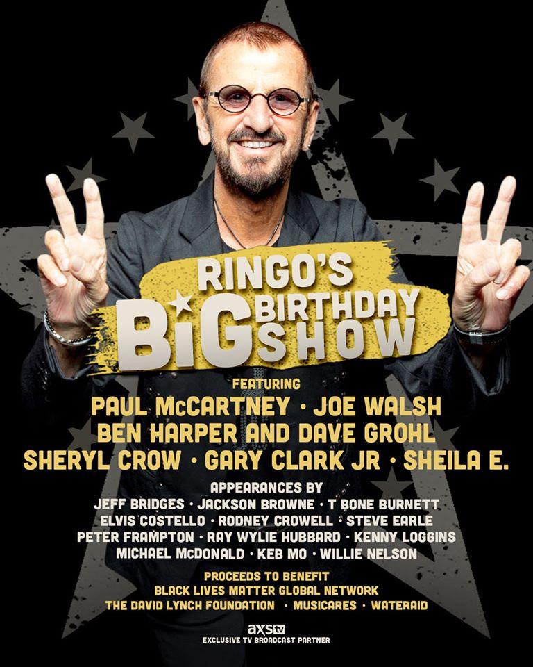 Ringo Star cumple 80 años con un gran show