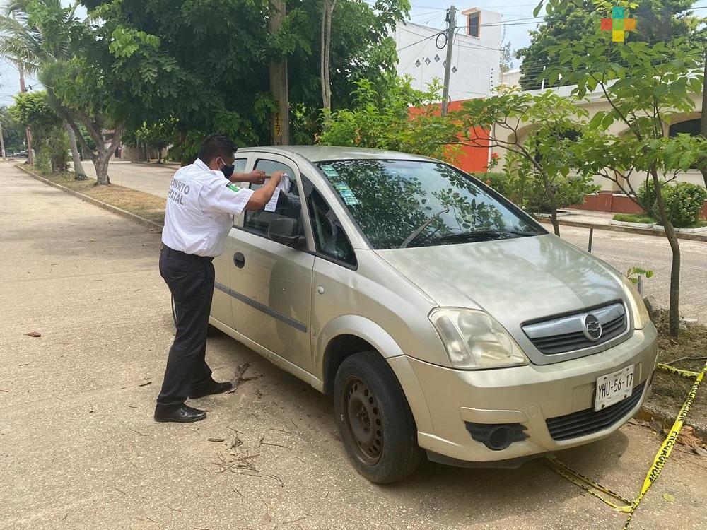 SSP realiza «Operativo Maceta» en calles de Coatzacoalcos