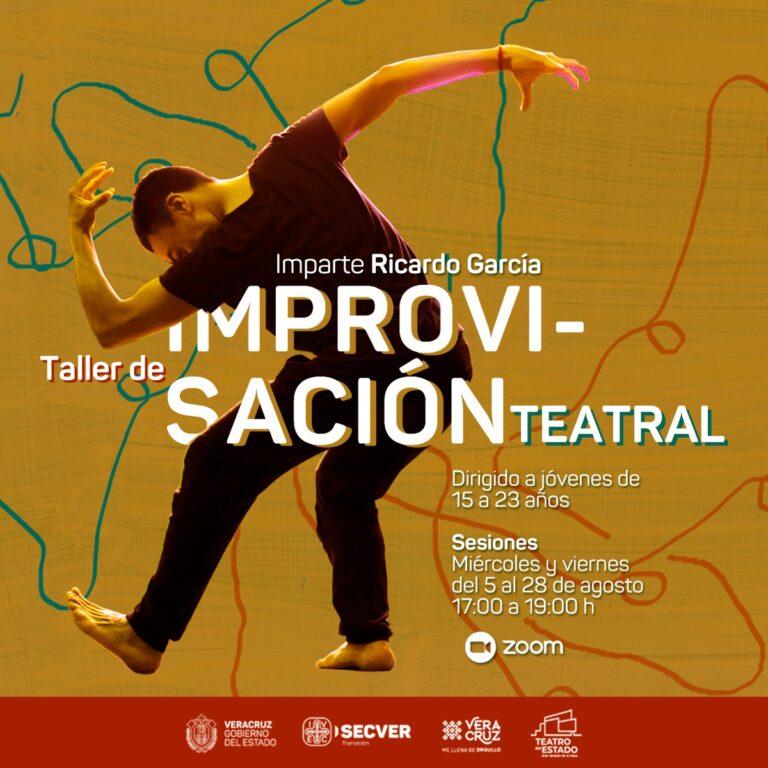 Invita IVEC taller virtual de improvisación teatral para jóvenes