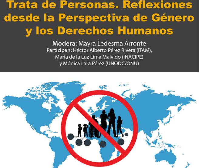 Realizan conversatorio en el marco del Día Internacional contra la Trata de Personas