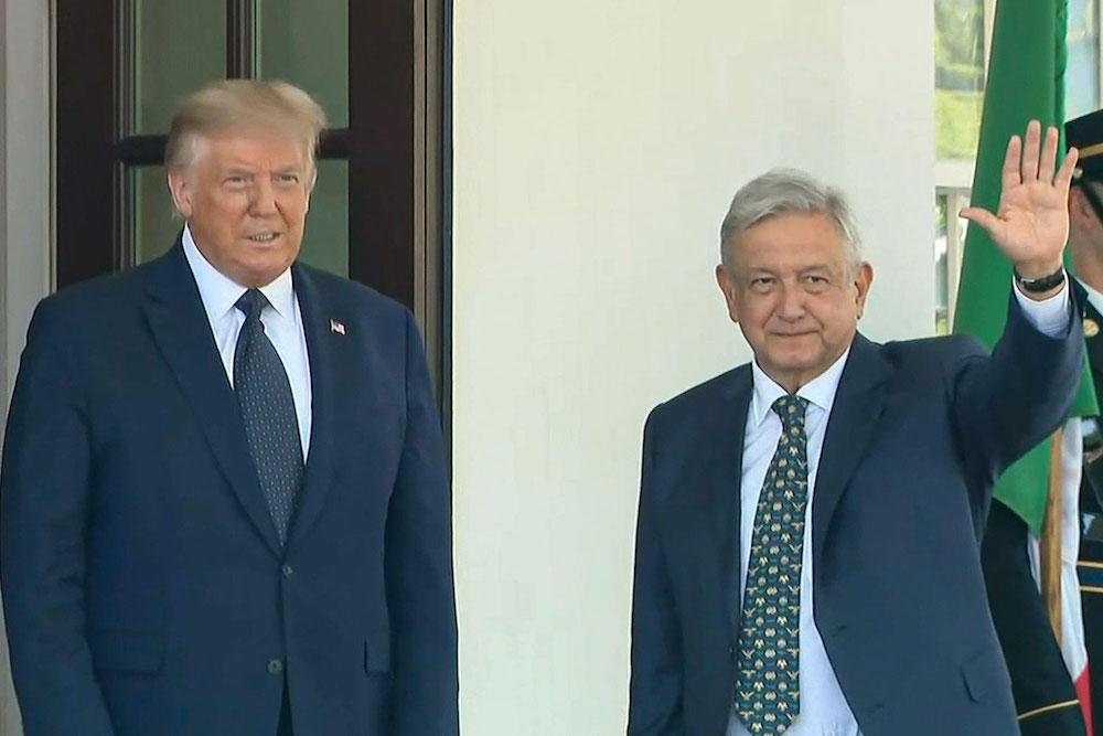 Presidentes de México y Estados Unidos se reúnen en la Casa Blanca