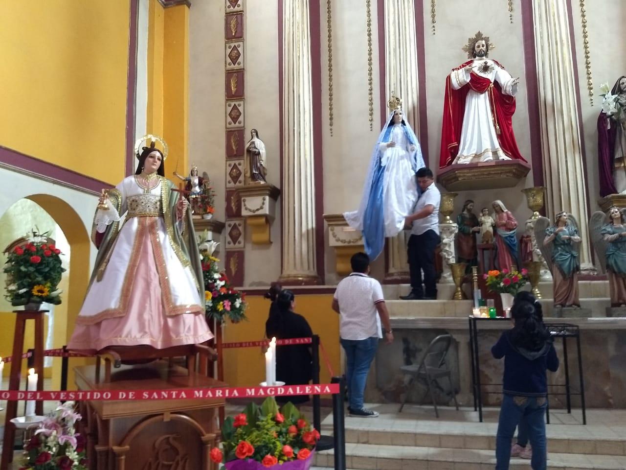 Fiestas tradicionales de Xico se mantienen con número limitado de feligreses y nueva tecnología