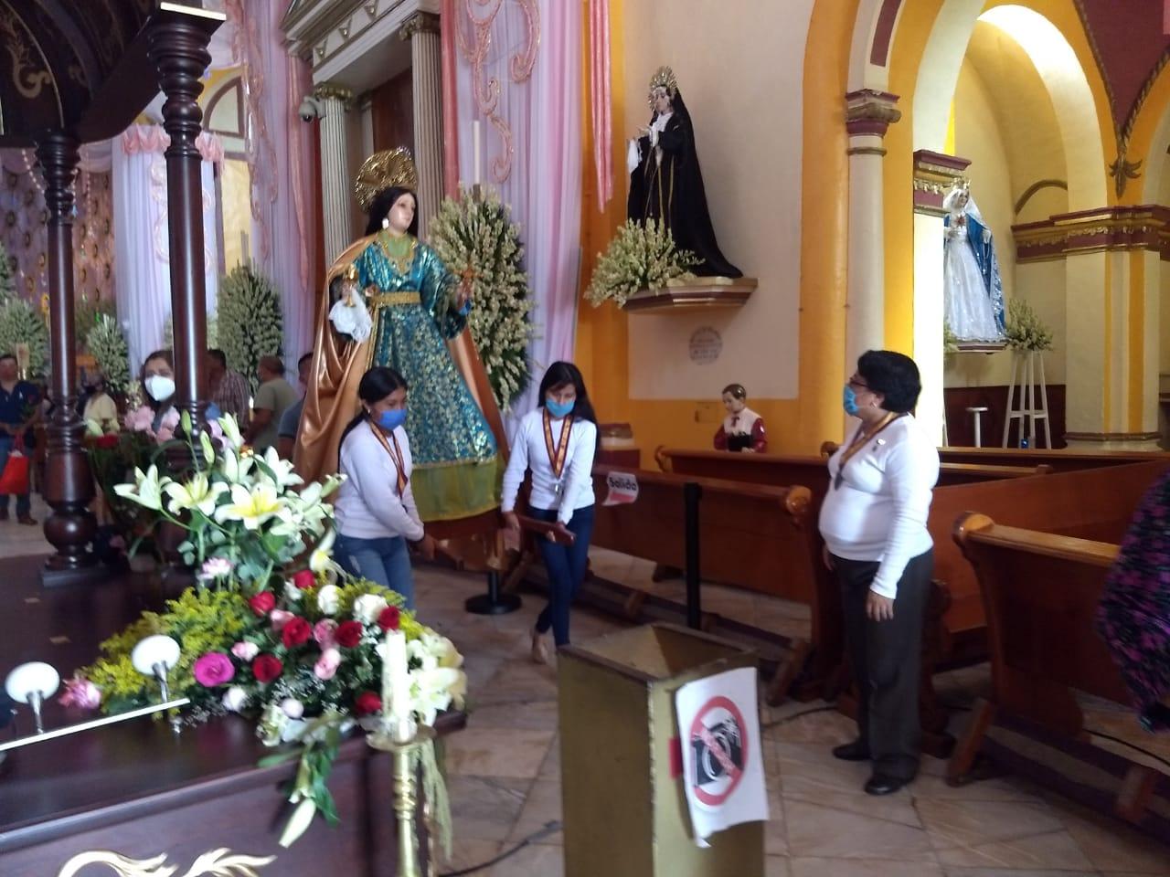 Xiqueños concluyen satisfechos las celebraciones religiosas en honor a Santa María Magdalena