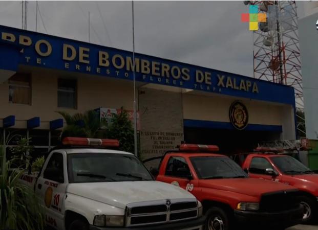 Bomberos de Xalapa no cuentan con una ley que los reconozca y respalde