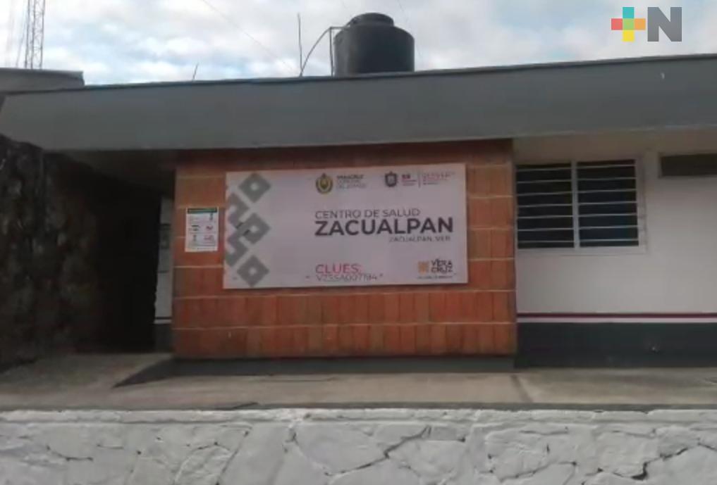 Ayuntamiento de Zacualpan y sector salud apoyan con medicina a población; sin casos COVID-19