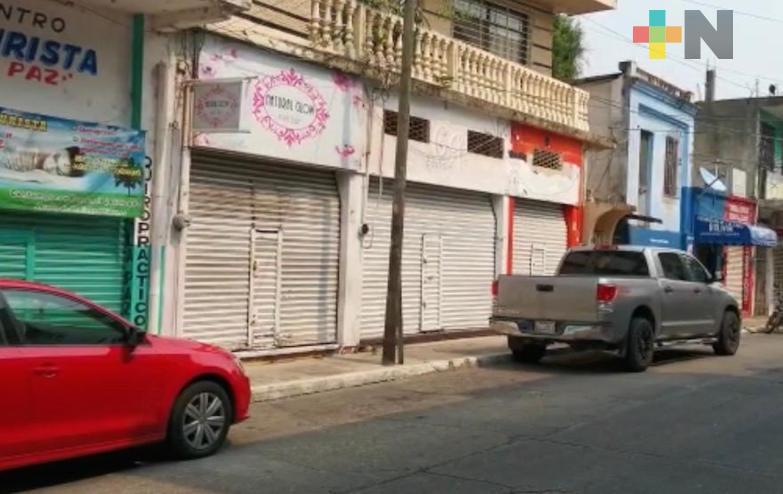 Comercios no esenciales continuarán cerrados en el municipio de Minatitlán