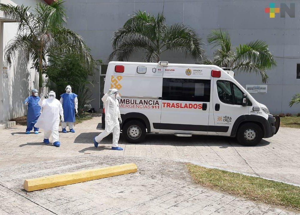 Se acumulan 31,740 casos positivos de COVID-19 en Veracruz