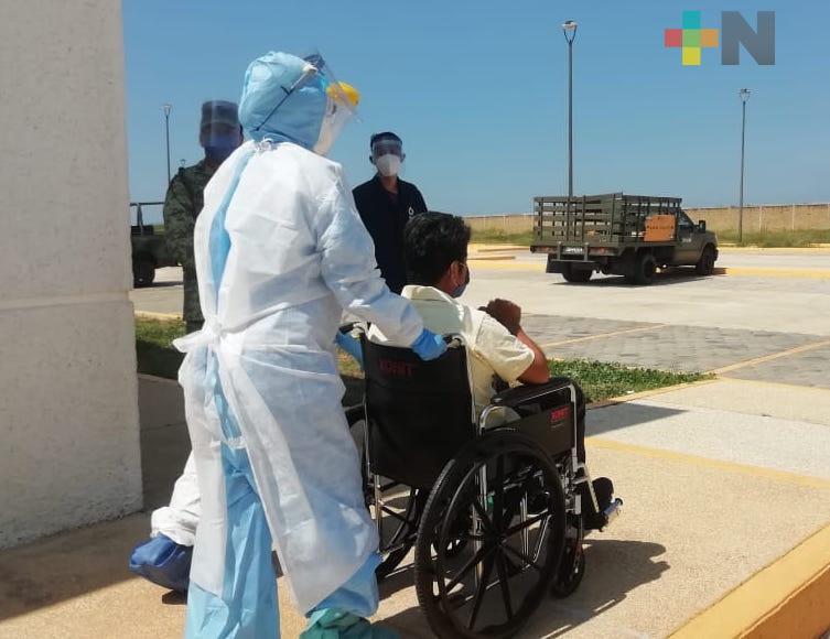 Hay en Veracruz 51,421 casos positivos de Sars-CoV-2; 7,171 personas han fallecido
