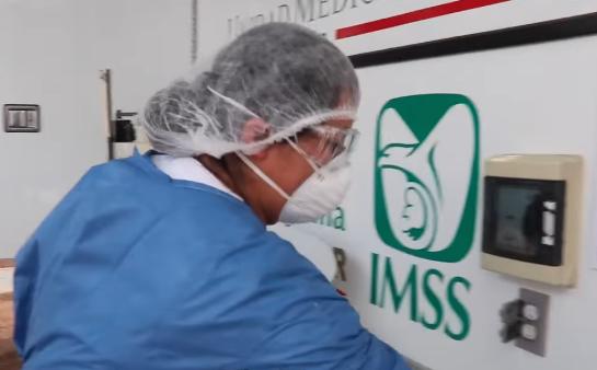 Crecen contagios de COVID-19 entre el personal médico del IMSS; cerca del 90% se han recuperado