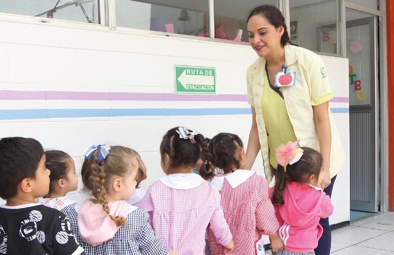 Inscritos cerca de 15 mil hijas e hijos de padres trabajadores, en guarderías del IMSS