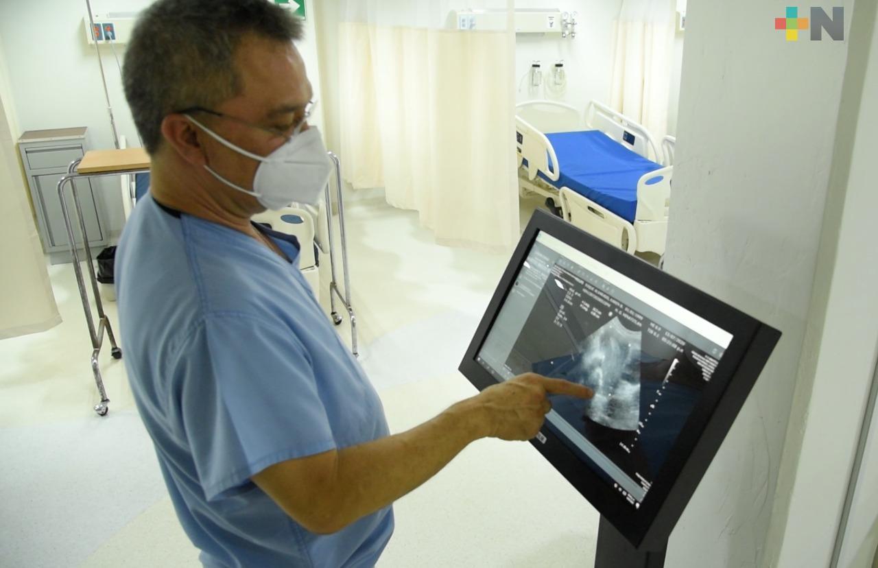 Gobierno del Estado equipa con tecnología a hospitales generales y regionales