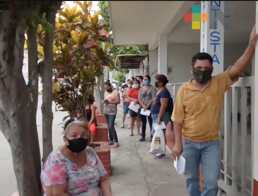 Poza Rica continúa en semáforo epidemiológico  rojo, reporta 146 defunciones