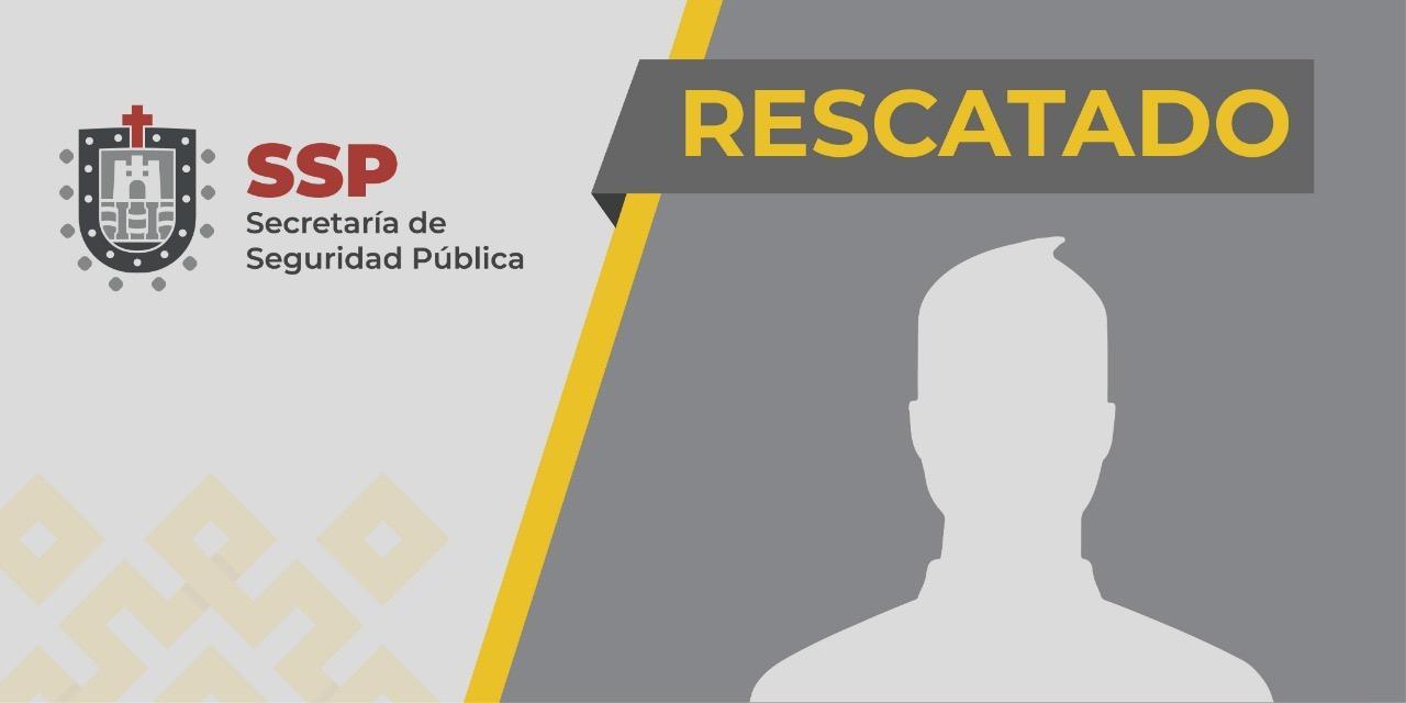 Rescata SSP a persona privada de su libertad, en Las Choapas