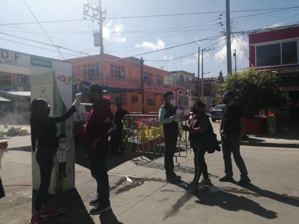 Autoridades de Perote emiten alerta máxima por contagios de COVID-19 en el municipio