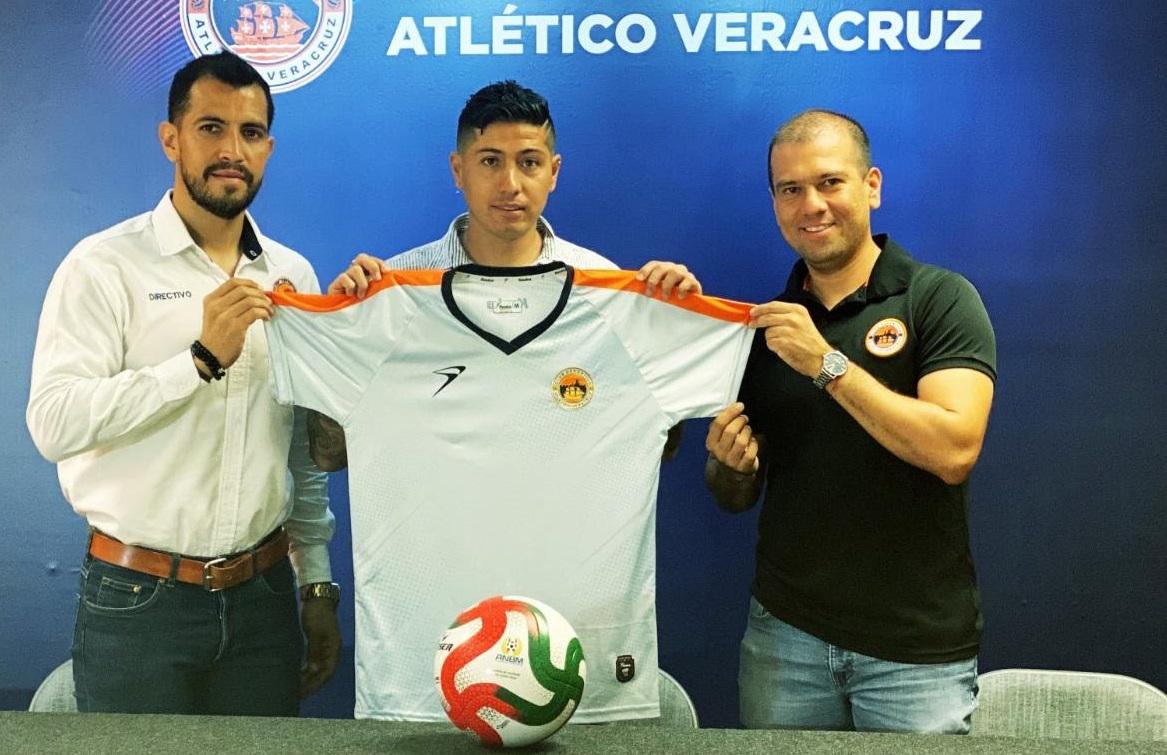 Diego Jiménez segundo refuerzo del Atlético Veracruz