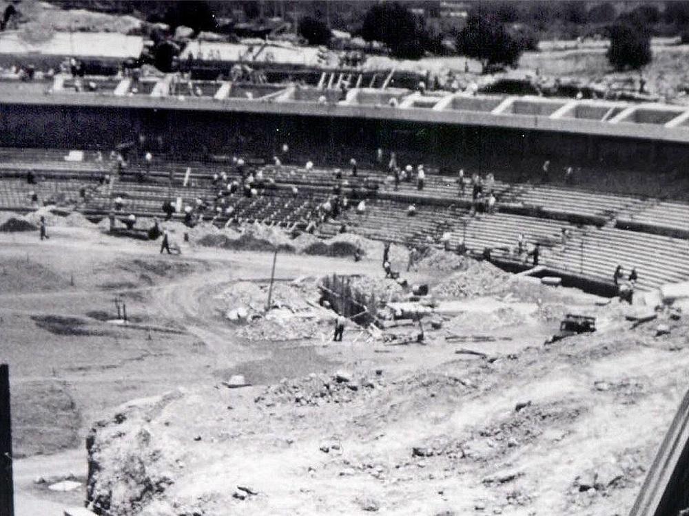 ¡Goooooya! a 70 años de la colocación de la primera piedra del estadio de CU