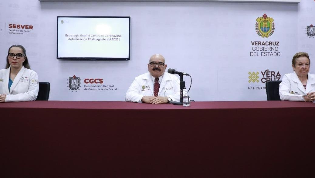 Acumula Veracruz 26 mil 971 casos y 3 mil 534 muertes por Covid-19