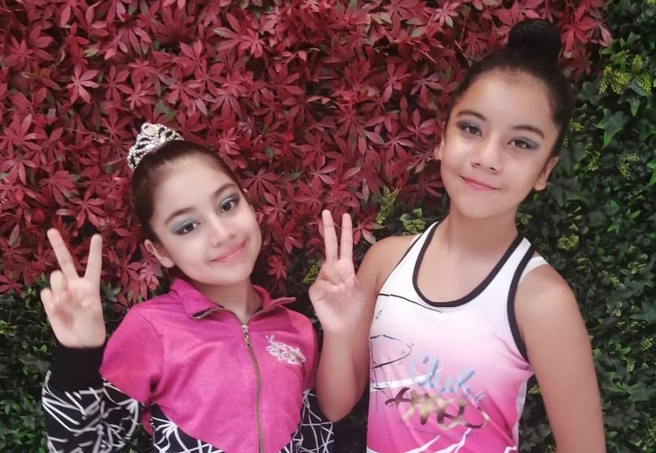 "Keira Jácome y Estela Gamboa conquistan Rhytmic Gimnastics On Line ""GymKids Cup"""