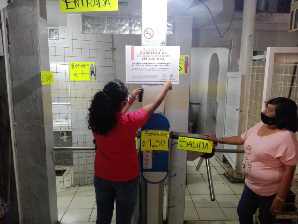 Clausuran cinco negocios por infringir medidas sanitarias en Xalapa