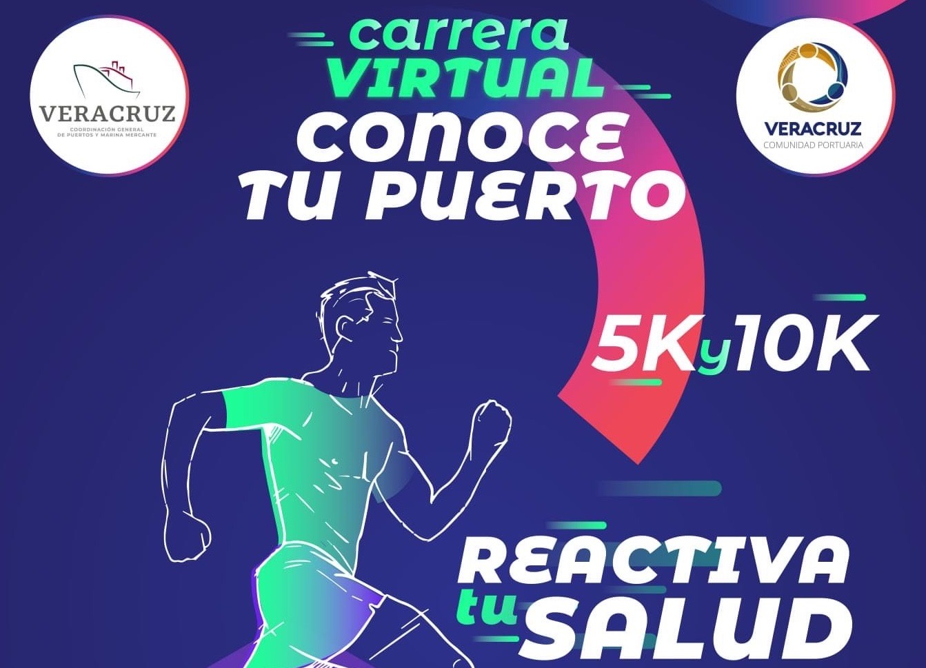 """APIVER realizará Carrera Virtual """"Conoce tu Puerto 5 y 10K"""""""