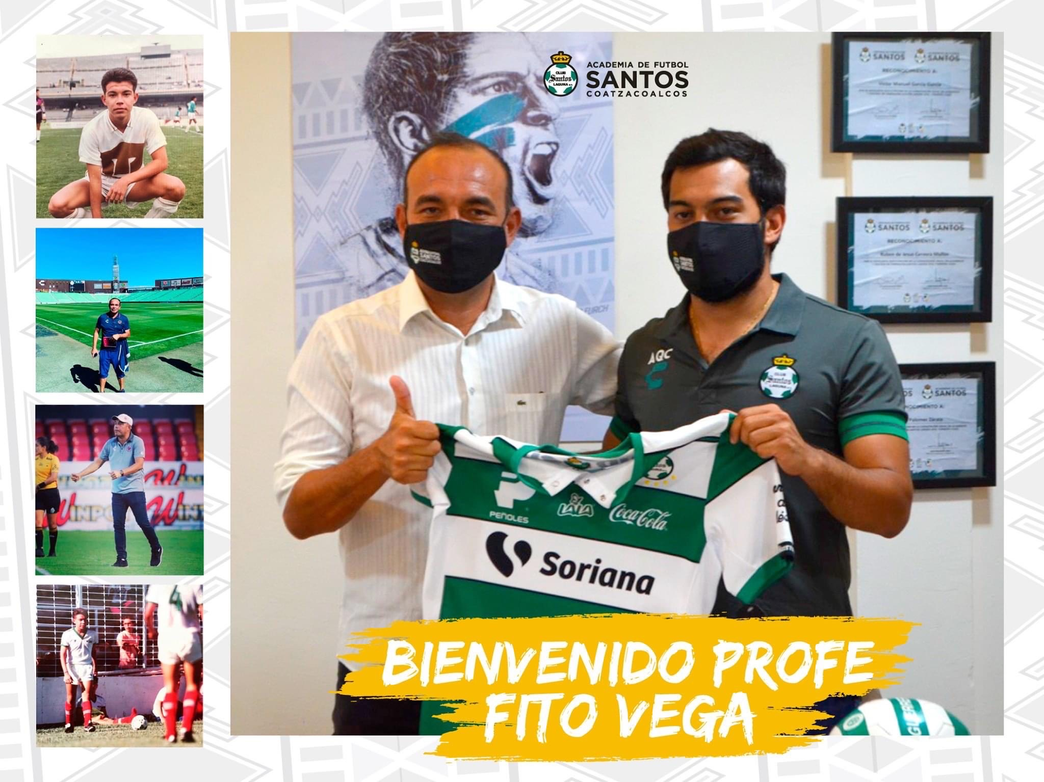 Rodolfo Vega asume dirección deportiva de Academia Santos Coatzacoalcos