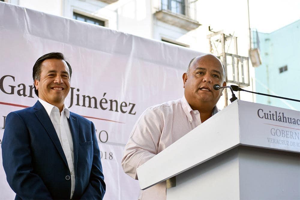 """""""Mantengo el entusiasmo y trabajo sin descanso por Veracruz"""": Eric Cisneros"""