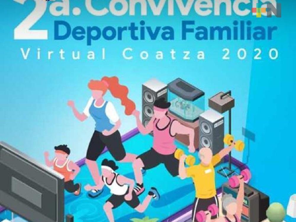 A través de la plataforma Zoom invitan a familias a participar en la «Convivencia Deportiva Familiar»