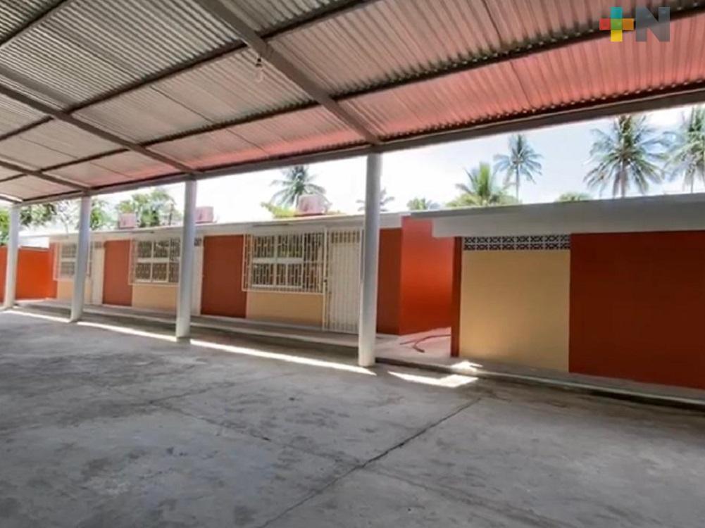 Agradecen a gobernador Cuitláhuac García construcción de aulas en telesecundaria Valentín Gómez Farías