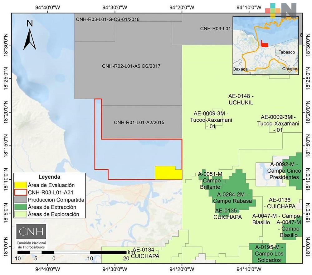 Empresa Hokchi Energy realizará perforaciones para el descubrimiento del pozo Xaxamani-2EXP