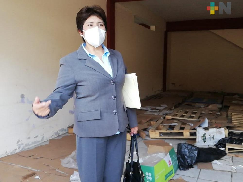 Alcaldesa de Rafael Delgado dice temer por su integridad física; le vandalizaron el palacio municipal