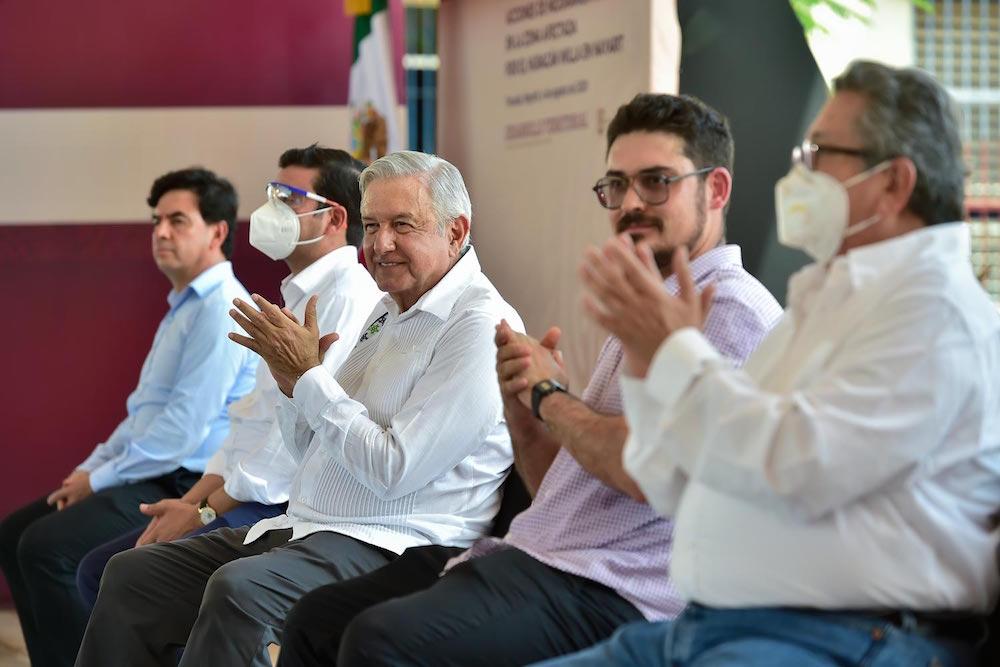 Presidente constata avance en rehabilitación de zonas afectadas por huracán Willa en Nayarit