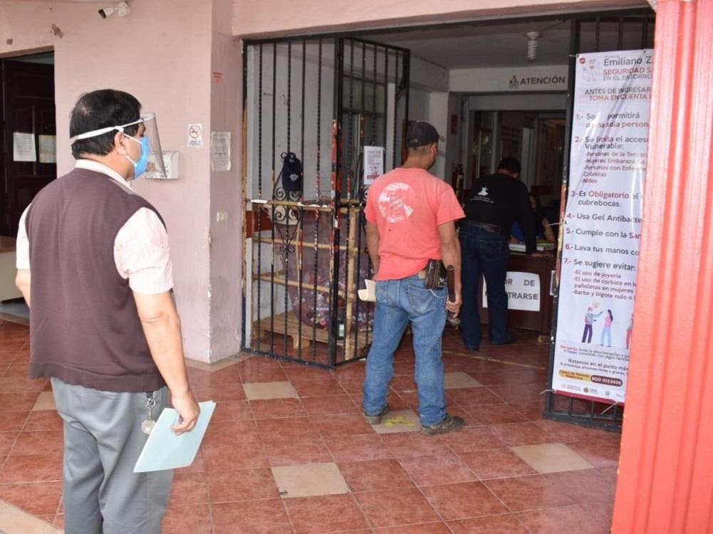 Ayuntamiento de Emiliano Zapata reanudará actividades de forma escalonada
