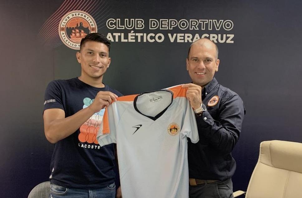 Moisés Velasco, séptimo refuerzo del Atlético Veracruz