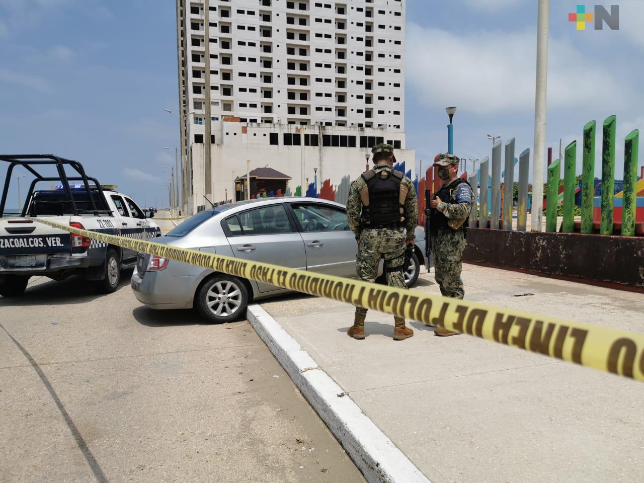 Detienen a tres delincuentes tras balacera en malecón costero de Coatzacoalcos