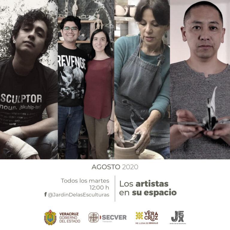 """Presenta IVEC serie """"Los artistas en su espacio"""""""