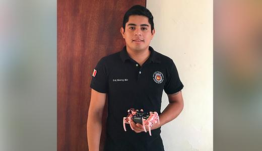 Ganan estudiantes del TecNM campus Poza Rica primeros lugares en concurso internacional de robótica