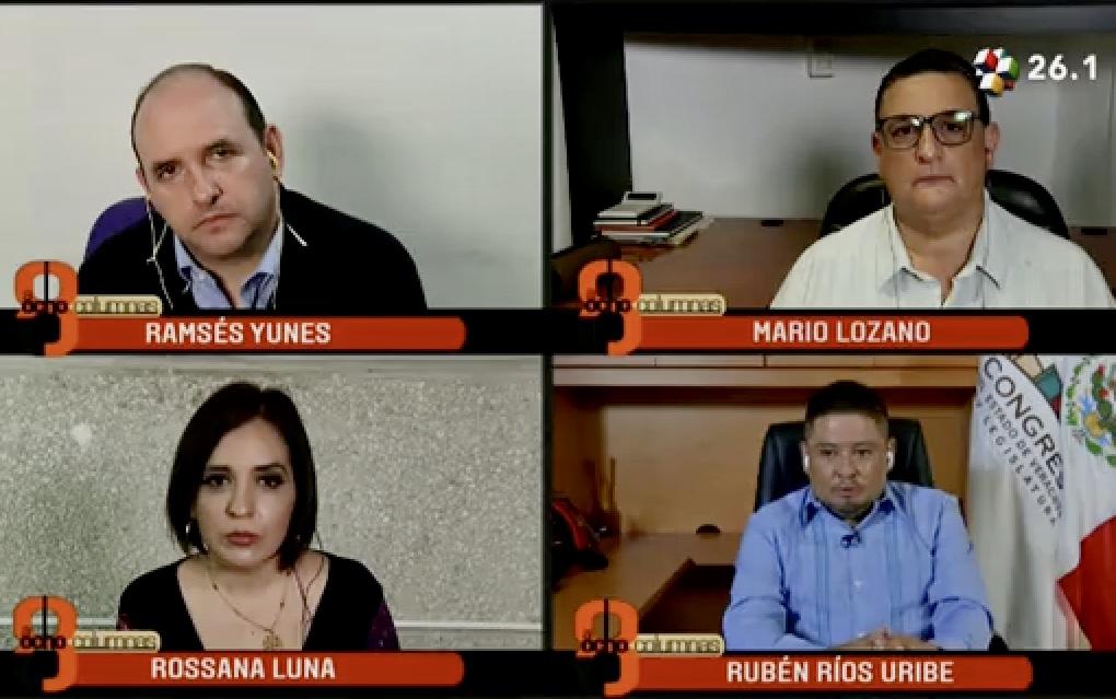Lamentable que mediante argucias jurídicas, magistrados pretendan alargar los encargos: Rubén Ríos Uribe