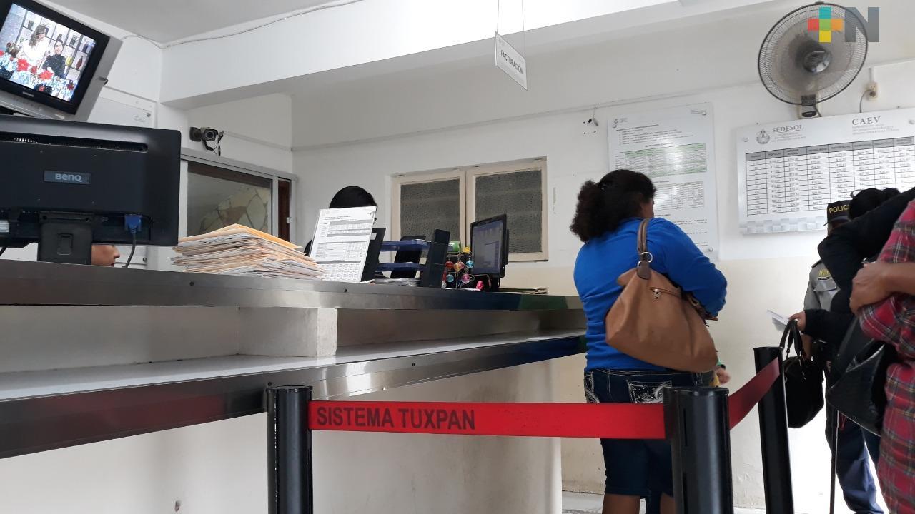 CAEV Tuxpan registra una cartera vencida de 15 millones de pesos