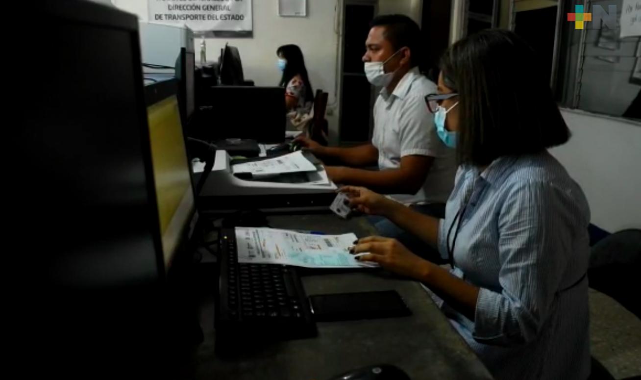 Realizan trámites de licencia de conducir en Tantoyuca