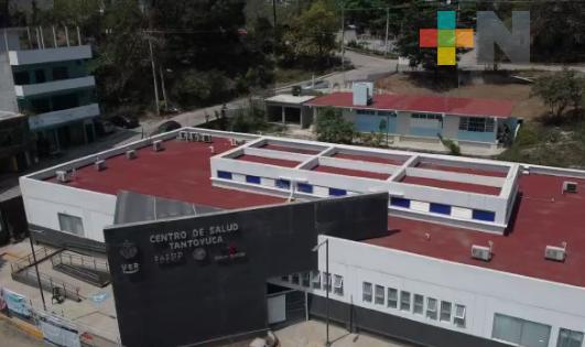 Centro de Salud de Tantoyuca tiene área especializada para valorar pacientes con síntomas respiratorio