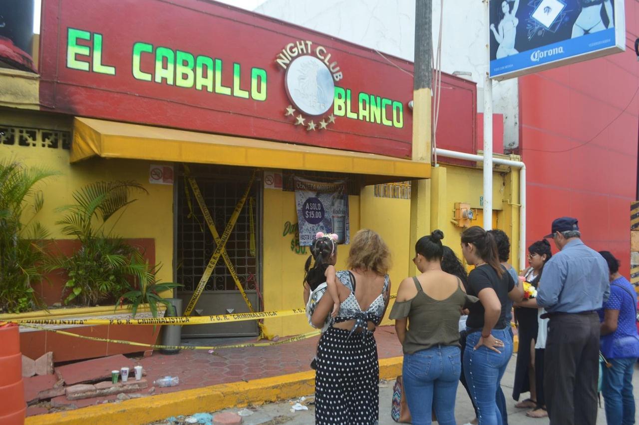Familiares de víctimas del bar «Caballo Blanco», realizarán marcha en Coatzacoalcos
