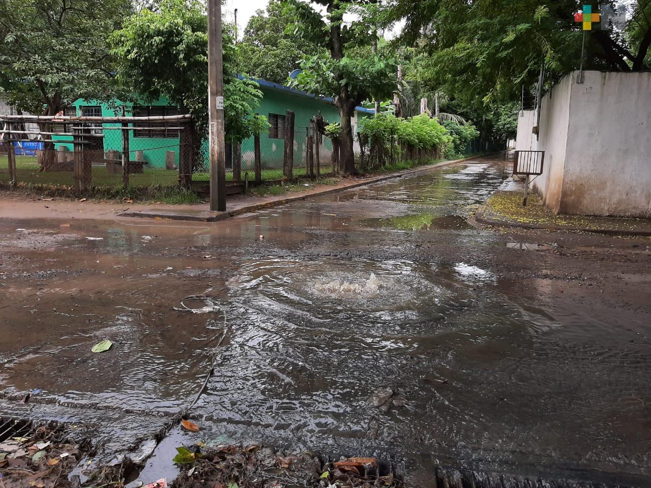 Vecinos reportan fuga de aguas negras en Reserva Tarimoya de Veracruz