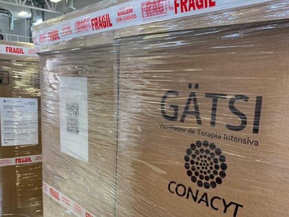 Conacyt entregó los primeros 275 ventiladores Gätsi