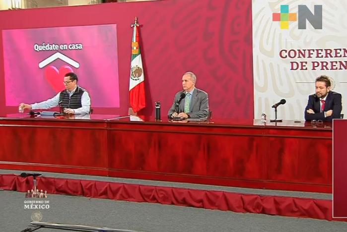 Hay en México 449,961 casos acumulados de COVID-19 y 48,869 defunciones