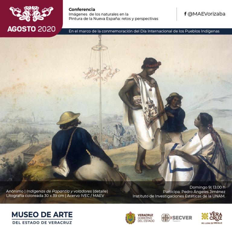 Invita IVEC a reflexionar sobre los pueblos indígenas como sujetos y creadores de arte