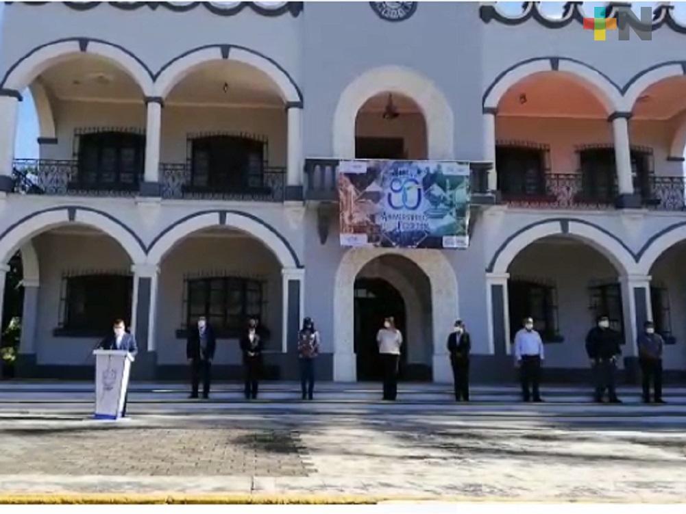 Conmemoran 90 Aniversario de la Fundación del Municipio Libre de Fortín