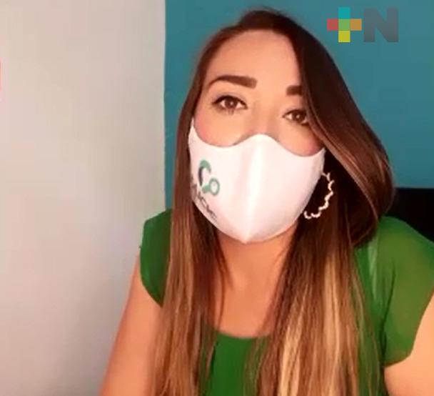 «Cuida tu vida, usa cubrebocas», campaña para reducir contagios de coronavirus en Veracruz- Boca del Río