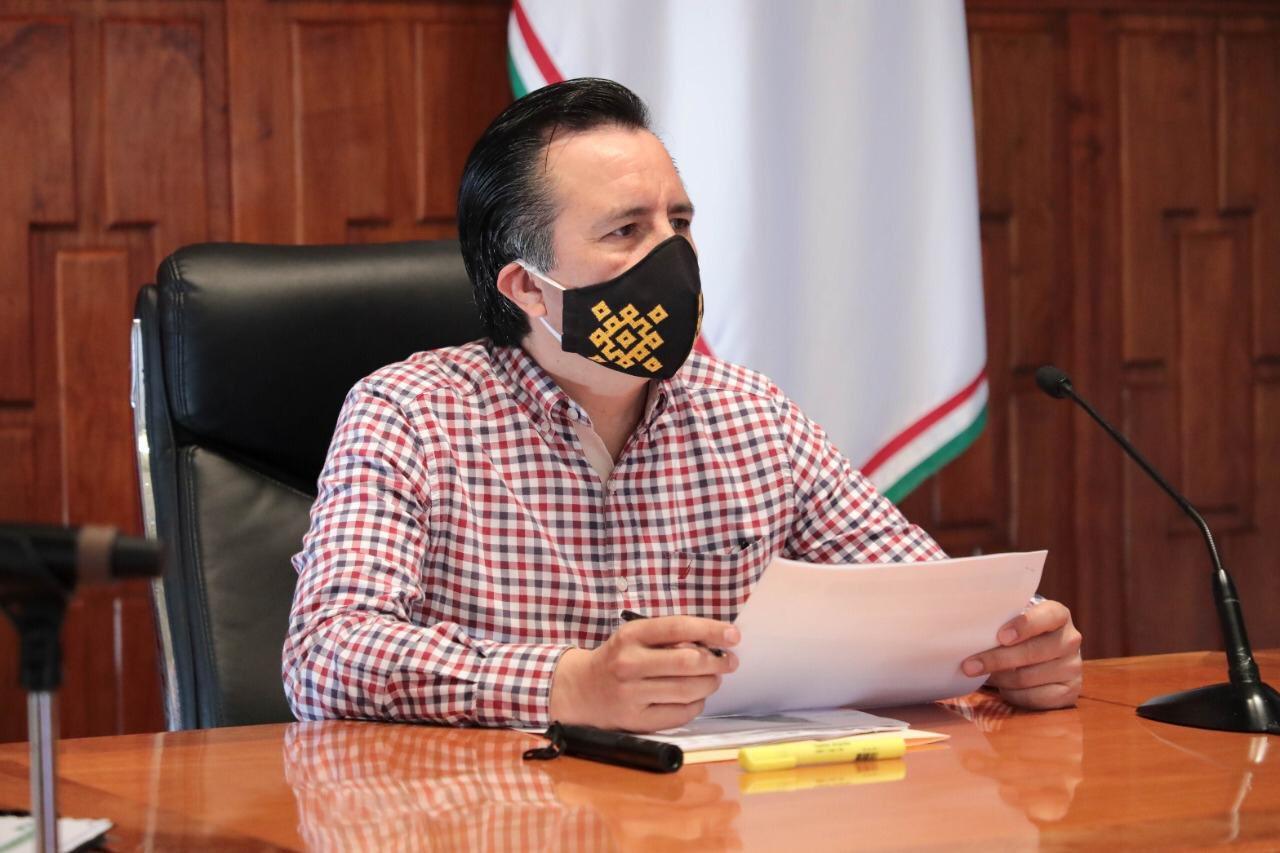 El Grito de Independencia en el estado de Veracruz será virtual: Cuitláhuac García